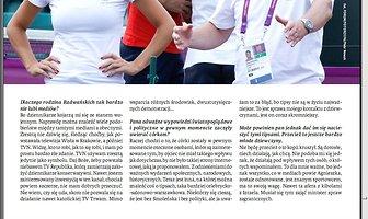 """Wywiad z Papą Radwańskim dla tygodnika """"Sieci"""""""