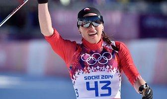 Justyna Kowalczyk z olimpijskim złotem