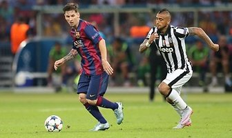 Finał Ligi Mistrzów / Barcelona 3-1 Juventus